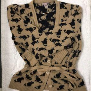🐱 EUC H&M Fuzzy & Cozy Cat Cardigan 🐱